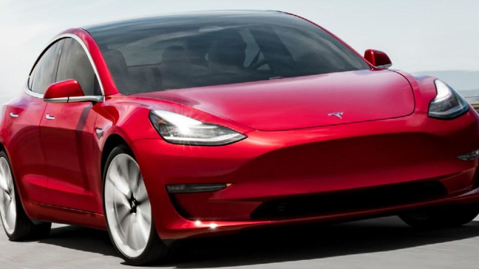 China limita uso de autos Tesla por su capacidad de grabar video del entorno - Auto de Tesla. Foto de Tesla