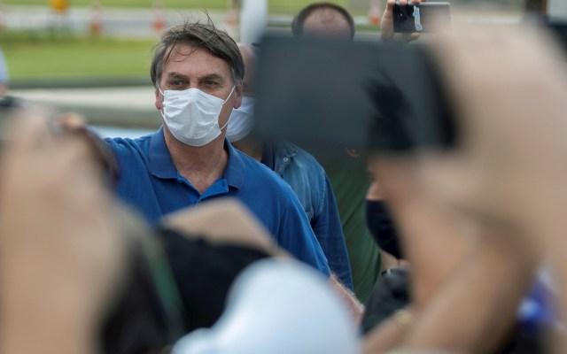 Bolsonaro acude a manifestación en medio de la pandemia de COVID-19 - Bolsonaro manifestación protesta COVID-19 Brasil 2