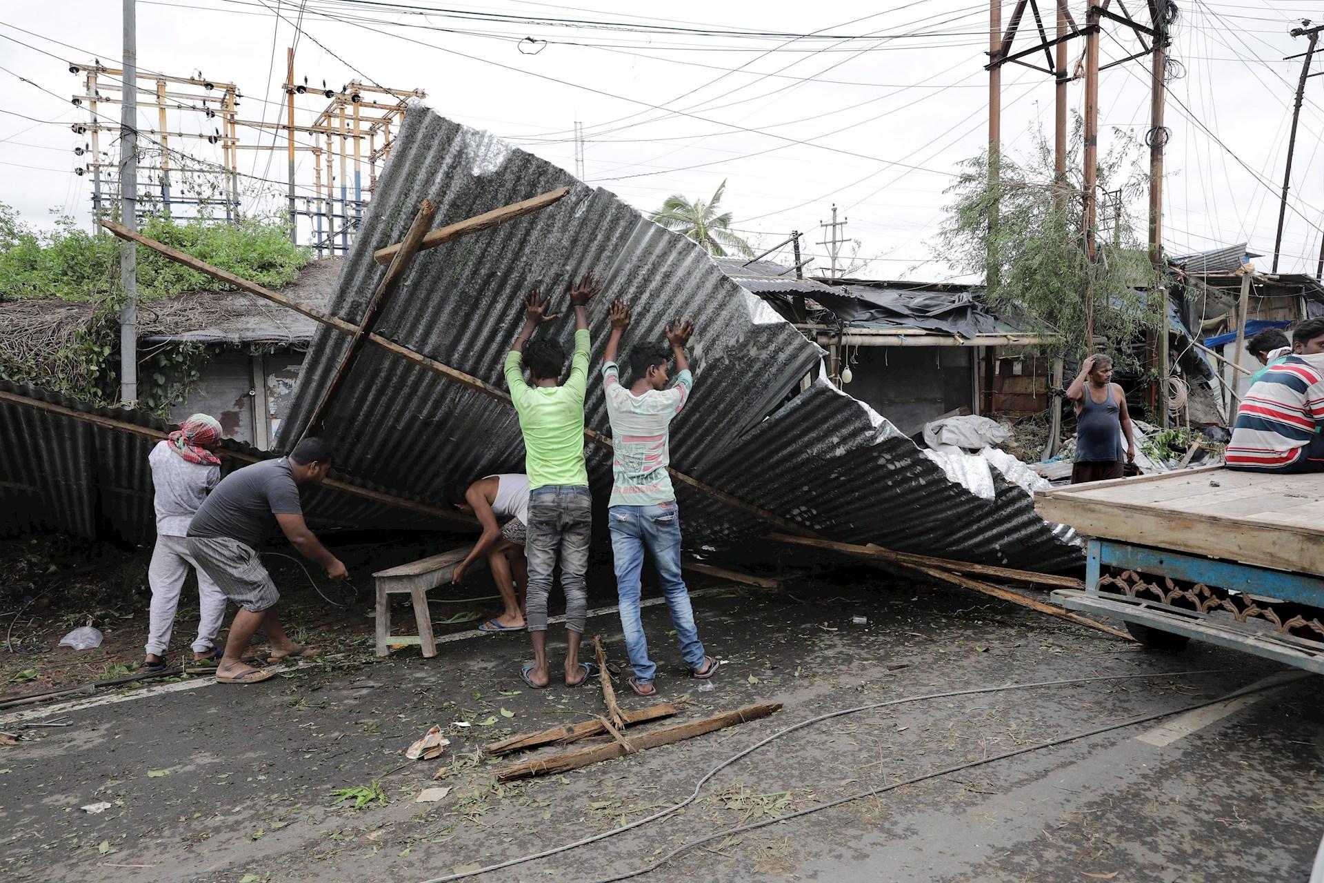 Ciclón Amphan