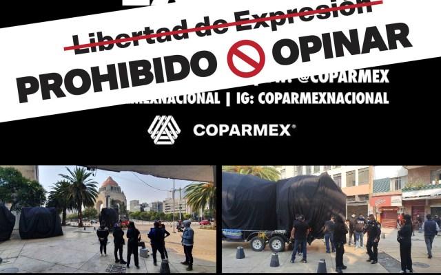 """Impiden a Coparmex presentar su """"vacuna contra el desempleo"""" en la CDMX - coparmex vacuna desempleo"""