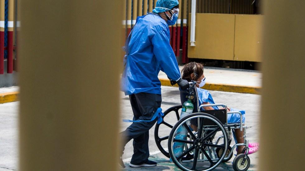 En la Ciudad de México hay 11 mil 664 casos confirmados de COVID-19 - Vista de un hospital que atiende casos de COVID-19. Foto de Notimex
