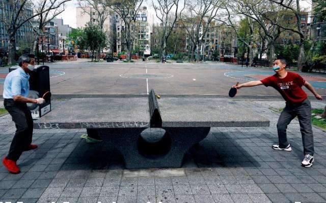 Estudio afirma que 12 por ciento de la población de Nueva York tendría COVID-19 - Foto de EFE