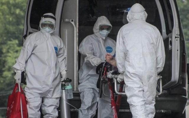 Rebrote de COVID-19 se extendería hasta abril de 2021, advierte López-Gatell - COVID-19 coronavirus México Ciudad hospital paciente