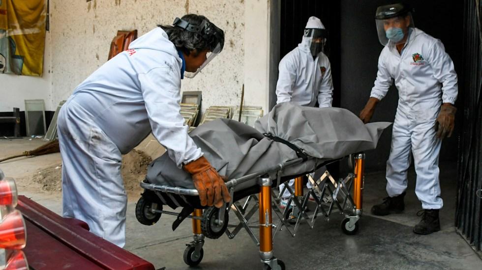 México se ubica en tercer lugar de los países con más muertes por COVID-19 en 24 horas - Cremaciones en la Ciudad de México por COVID-19