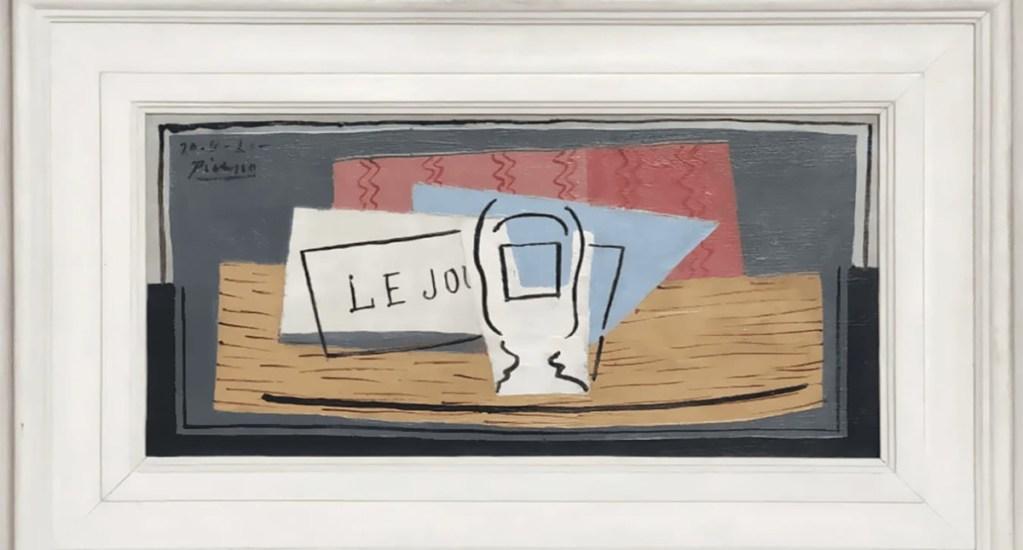 Moscú expone más de 250 obras de Dalí y Picasso de una colección privada - Cuadro Nature Morte de Pablo Picasso. Foto de Pablo Picasso/Succession Picasso