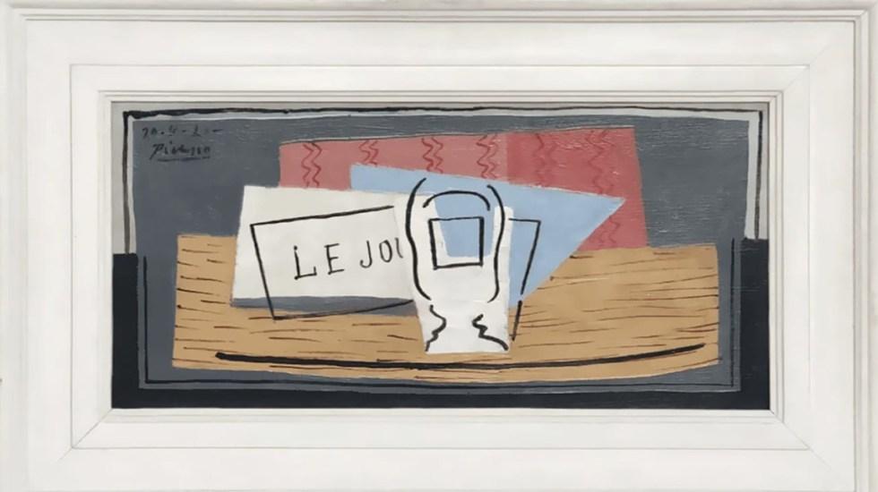 Mujer gana Picasso de 1.1 mdd con boleto de rifa regalado - Cuadro Nature Morte de Pablo Picasso. Foto de Pablo Picasso/Succession Picasso