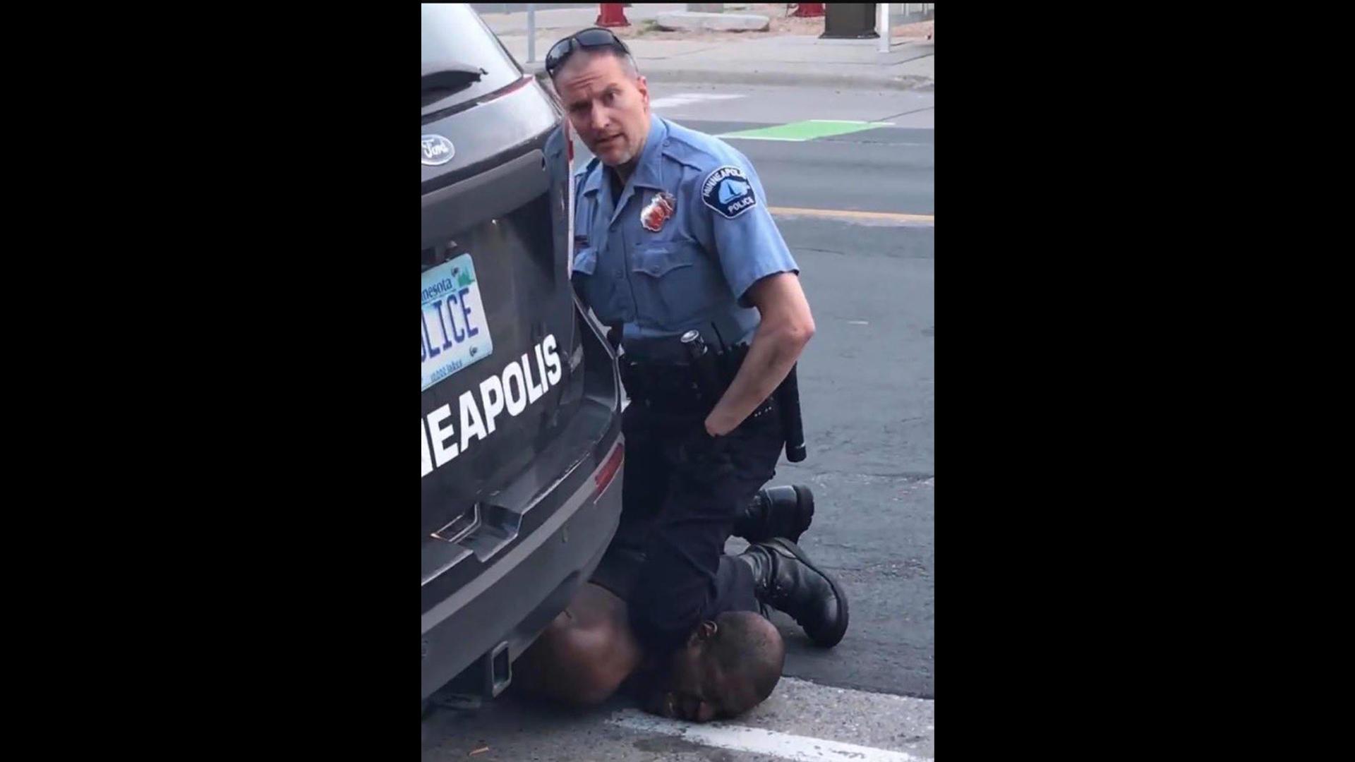 Ha sido arrestado el agente de policía de Minneapolis, Minnesota, Derek Chauvin. Captura de Pantalla.