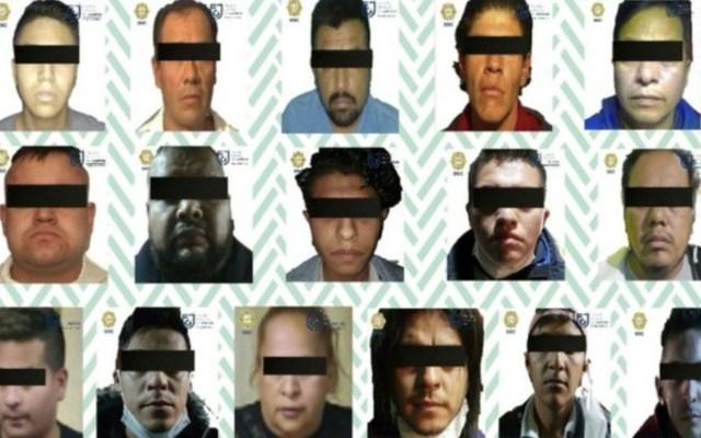 Detienen a 16 con droga en operativos en Venustiano Carranza - Foto de SSC