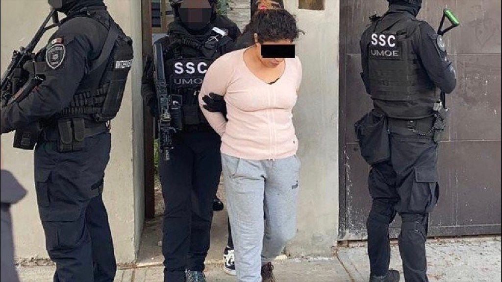 Dictan prisión preventiva a 'La Princesa de Tláhuac', hija de 'El Ojos' - Foto de SSC.
