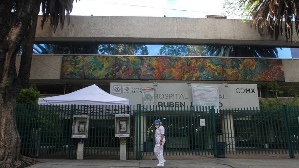 Saturados 52 de 74 hospitales COVID-19 en el Valle de México - Foto de Notimex