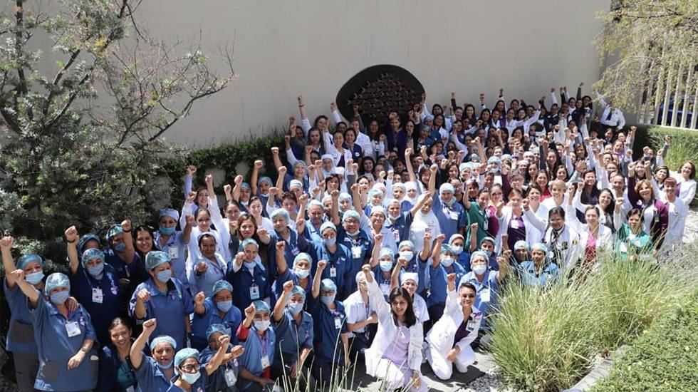 """Asociación Médica del ABC rechaza """"desafortunadas"""" declaraciones de López Obrador - Foto de Instagram / @centromedicoabc"""
