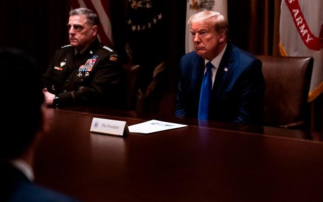 Trump apuesta por la reapertura económica; acepta riesgo de segunda ola de COVID-19 - Foto de EFE