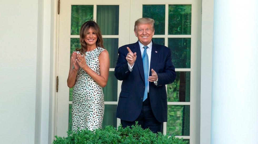 Trump califica de incompetente a Obama tras críticas del expresidente - Foto de EFE