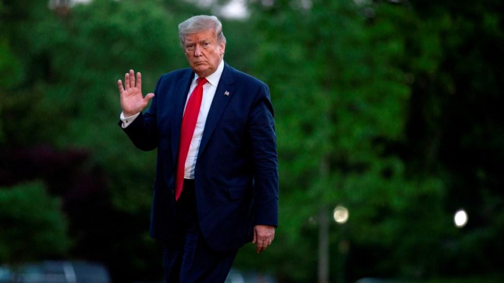 Trump dice que solo se reuniría con Maduro para negociar su salida del poder - Foto de EFE