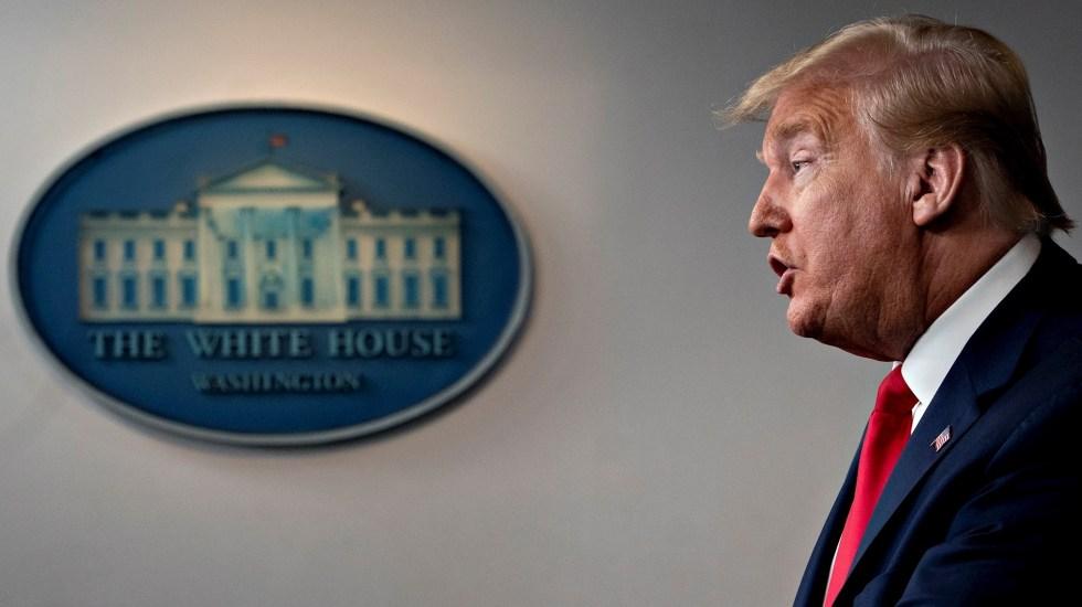 """Trump rechaza cancelar reunión con AMLO; """"es mi amigo"""", afirma - Donald Trump Estados Unidos presidente"""