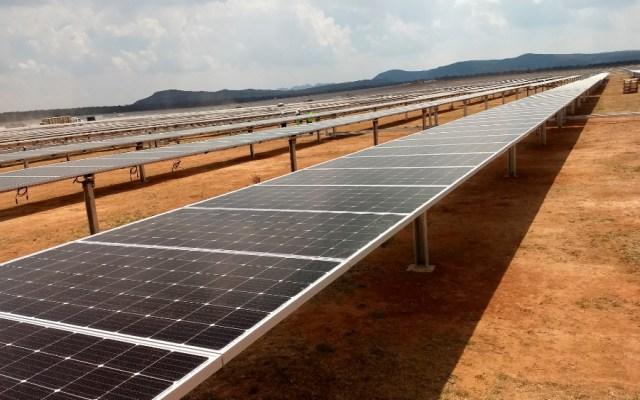 Juez concede suspensión contra acuerdo energético de la Sener - En la imagen, paneles solares para captar energía. Foto de EFE