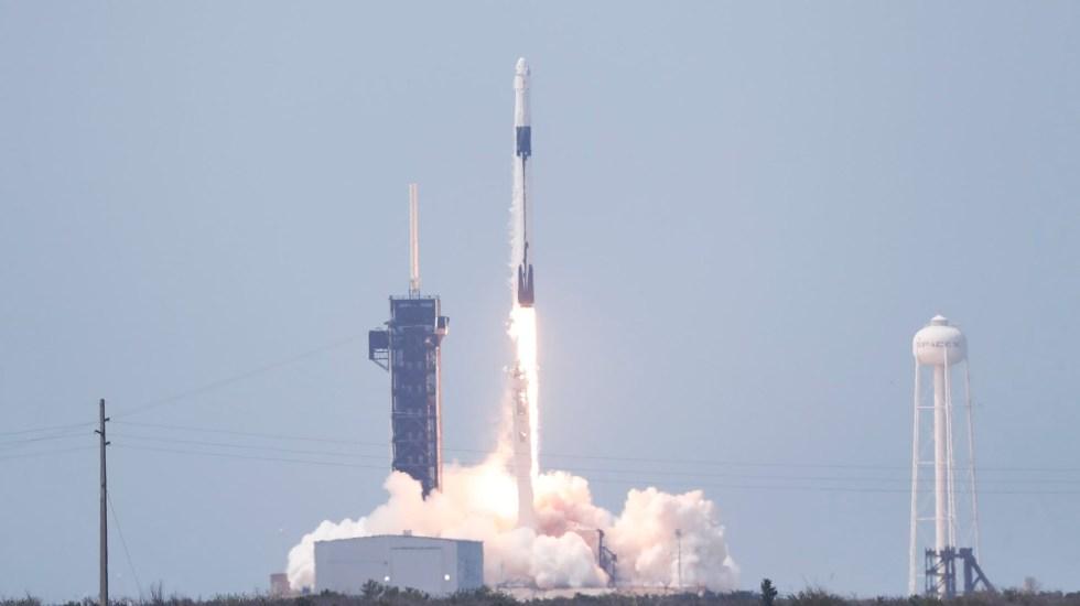 #Video Comienza una nueva era en la exploración espacial; despegó la misión Demo-2 de SpaceX y la NASA - falcon 9 lanzamiento