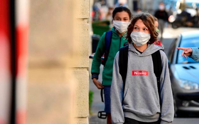 Francia cierra 70 escuelas por casos de COVID-19 - Francia escuelas coronavirus COVID-19