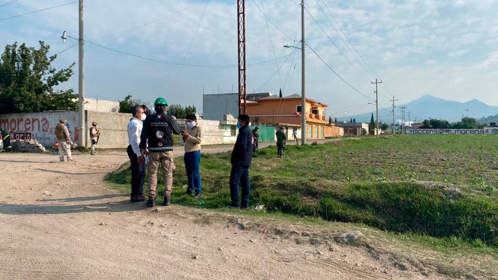 Controlan fuga de gas en Puebla; evacuan a mil personas - fuga de gas Amozoc Puebla