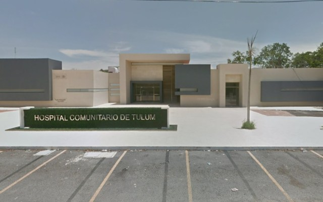 Sedena rescata hospital abandonado en Tulum para atención del COVID-19 - Hospital Comunitario de Tulum. Captura de pantalla / Google Maps