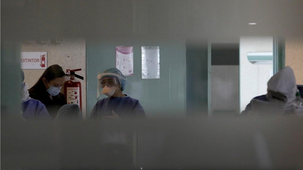 Así funciona un hospital dedicado al COVID-19 en México - Hospital COVID-19 Adolfo López Mateos Estado de México coronavirus