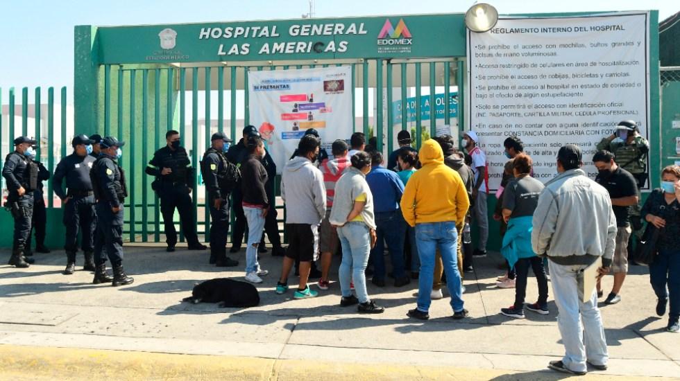 Edomex mejorará entrega de información a familiares en hospital de Ecatepec - Foto de EFE