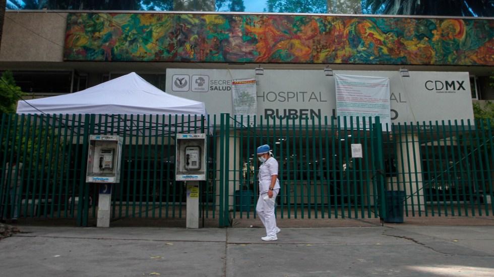 Saturados 30 de los 54 hospitales COVID-19 en la Ciudad de México - hospitales ciudad de México coronavirus COVID-19