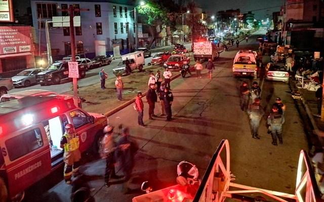 Bomberos controlan incendio en la Central de Abasto de Oaxaca - incendio central de abasto oaxaca