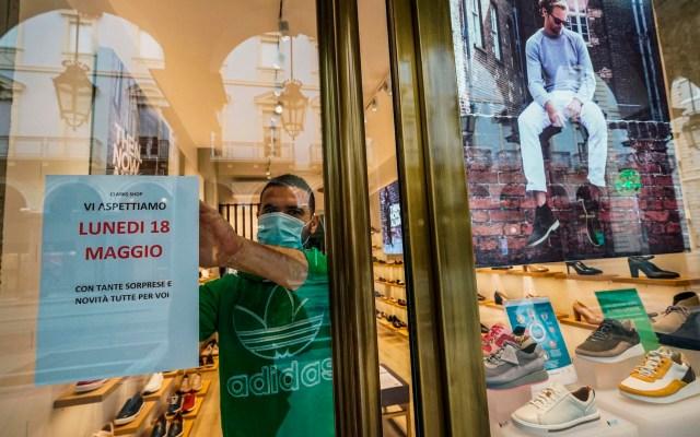 Reabre el 70 por ciento de pequeños comercios en Italia - Italia negocios coronavirus COVID-19