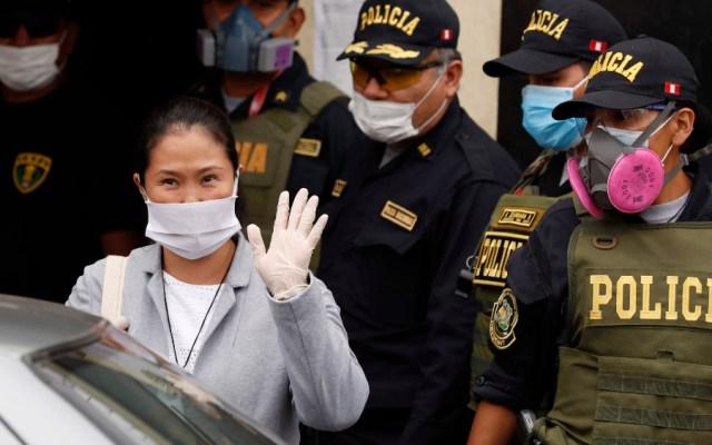 Keiko Fujimori recupera libertad en plena pandemia y sin juicio a la vista - Foto de EFE