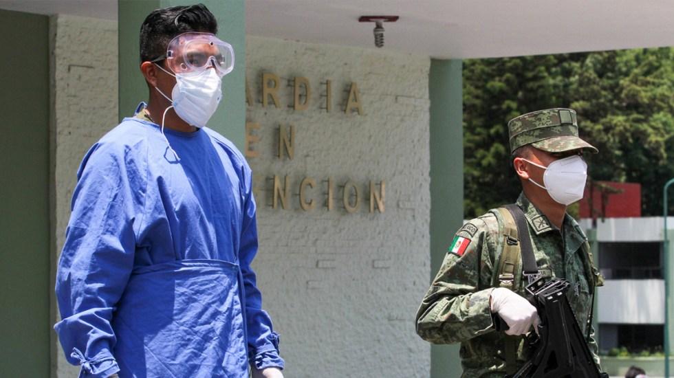 Únicamente cinco hospitales COVID-19 en el Valle de México tienen alta disponibilidad de camas - La Unidad de Terapia Intensiva y Hospitalización COVID-19, 22/o B.P.M. El Chivatito