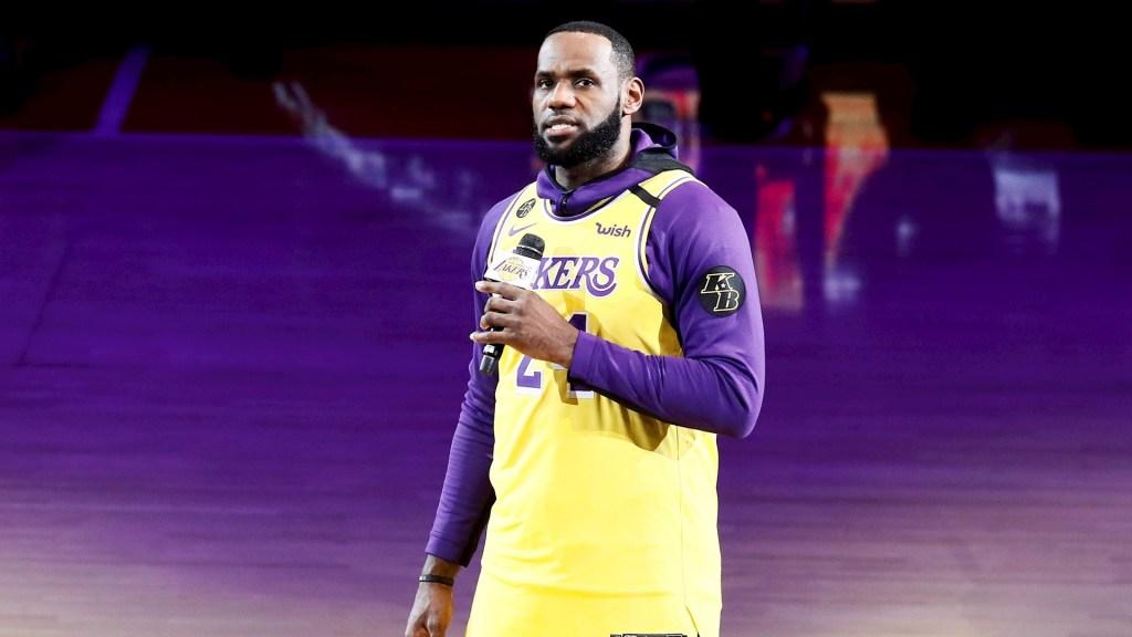 LeBron James debería ganar MVP de la temporada, asegura Damian Lillard - En la foto, el deportista LeBron James. Foto de EFE/EPA/ETIENNE LAURENT/Archivo
