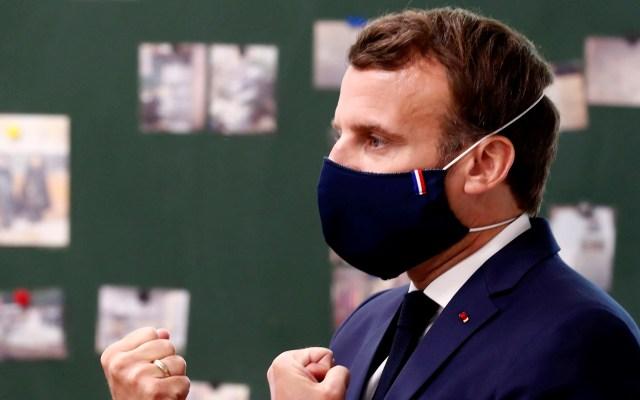 Macron insiste en reabrir escuelas pese a dudas de alcaldes y maestros - Macron coronavirus COVID-19