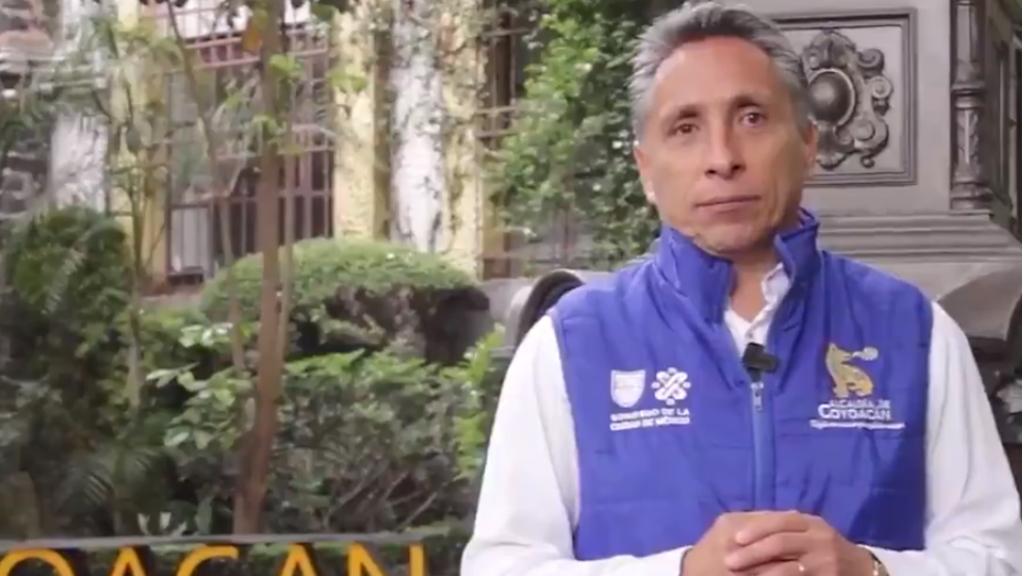 Manuel Negrete, alcalde de Coyoacán, da positivo a COVID-19 - Manuel Negrete COVID-19 coronavirus
