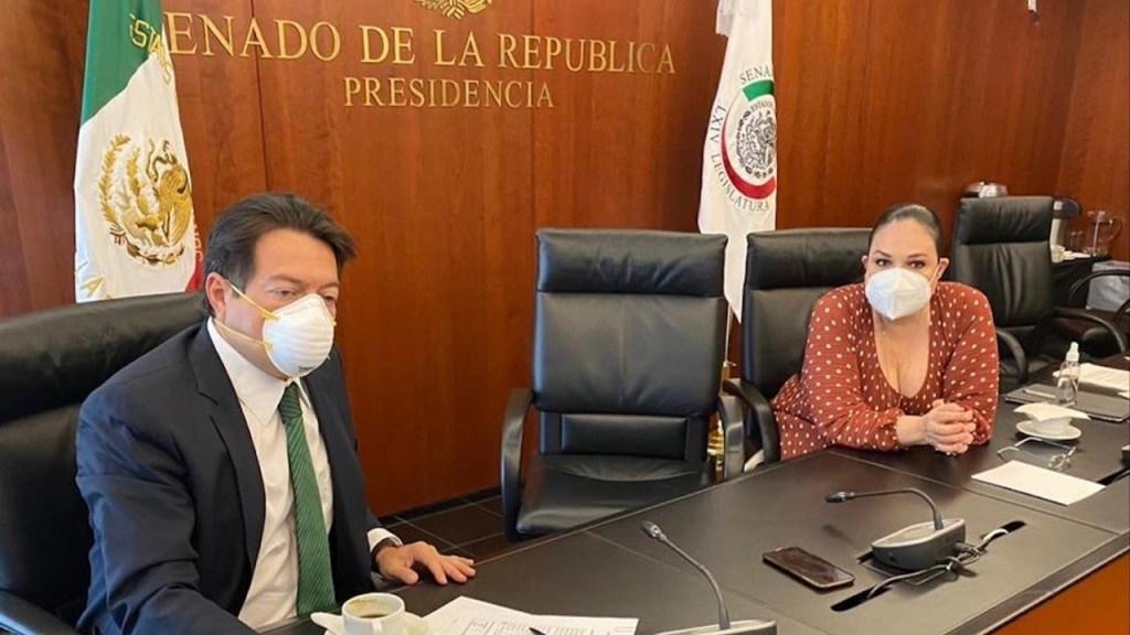 No habrá período extraordinario de sesiones en el Congreso; atenderán recomendaciones de Hugo López-Gatell - Foto de Twitter Mario Delgado