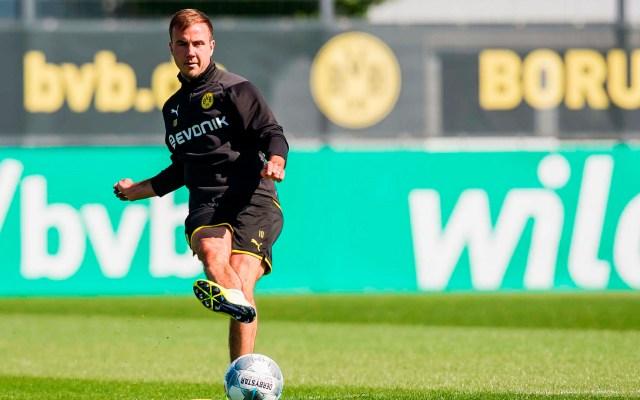 Borussia Dortmund no renovará a Mario Götze - Mario Götze Borussia Dortmund