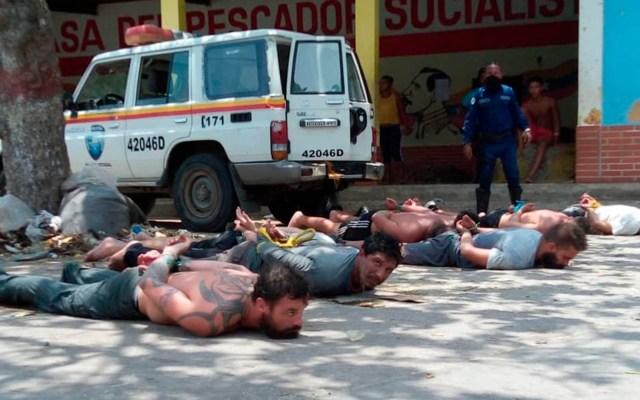 Detienen a ocho hombres vinculados a acciones terroristas contra Venezuela - mercenarios venezuela