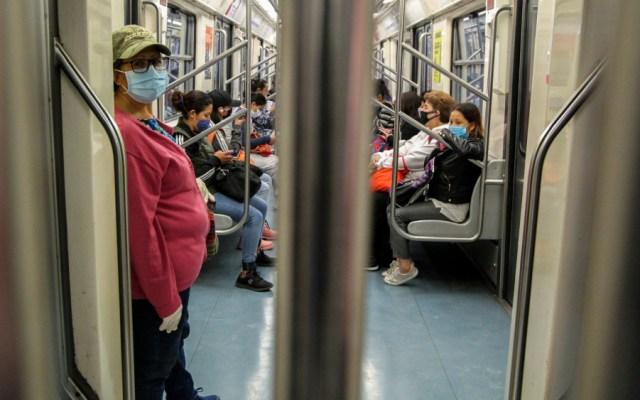 Por COVID-19, se redujo movilidad en el Metro hasta en 80 por ciento - Metro de la Ciudad de México. Foto de Notimex