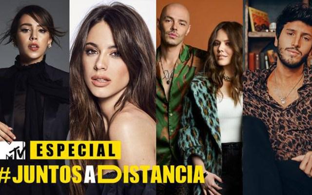 #Video MTV realiza concierto 'Juntos a Distancia' - Concierto Juntos a la Distancia. Foto de MTV