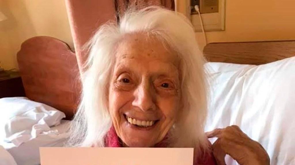 Mujer de 101 años sobrevive a gripe española, cáncer y COVID-19 - Mujer de 101 años sobrevive a gripe española, cáncer y COVID-19