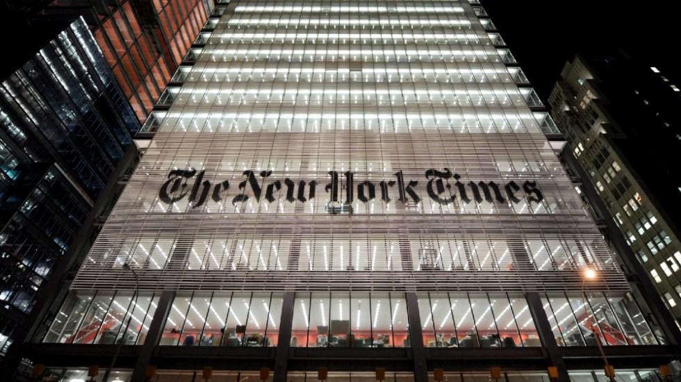 New York Times dedica portada a víctimas del COVID-19 en EE.UU. - Foto de EFE