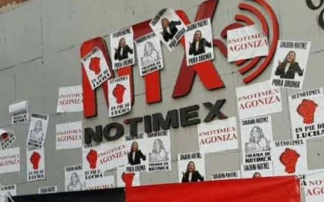 Acusan a Sanjuana Martínez, directora de Notimex, de atacar a periodistas y organizar campañas de desprestigio en redes sociales - Foto de @sutnotimex