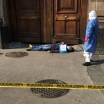 Presunto paciente con COVID-19 protesta en Palacio Nacional
