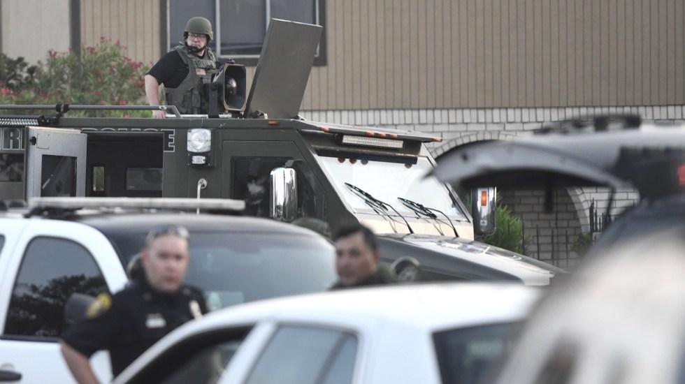 FBI declara tiroteo en base militar de Texas como acto de 'terrorismo' - Policía de Corpus Christi. Foto de USA Today