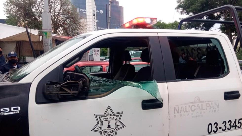 Agreden a policías en Naucalpan al dispersar fiesta - policía naucalpan coronavirus COVID-19