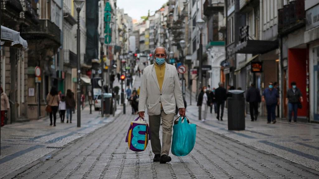 Primer ministro de Portugal pide a población volver a las calles con cautela - Portugal coronavirus COVID-19