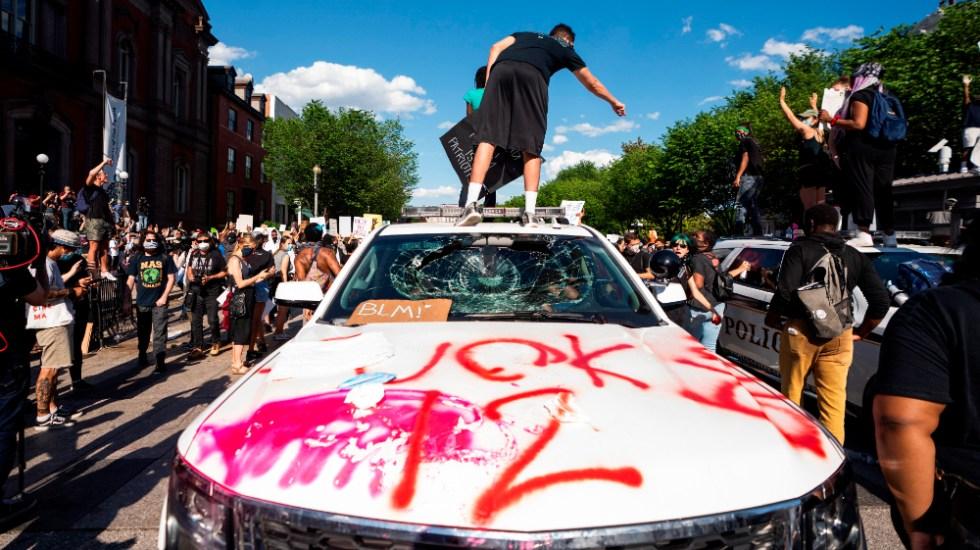 Protestas y disturbios en EE.UU. con toque de queda en varias ciudades - Foto de EFE