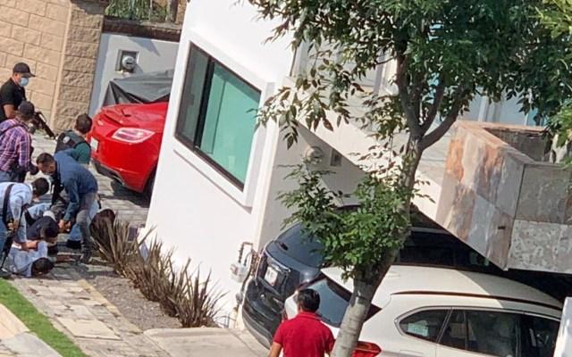 #Video Detienen a cuatro sujetos con armas y droga en Puebla - Foto de @TelevisaPuebla