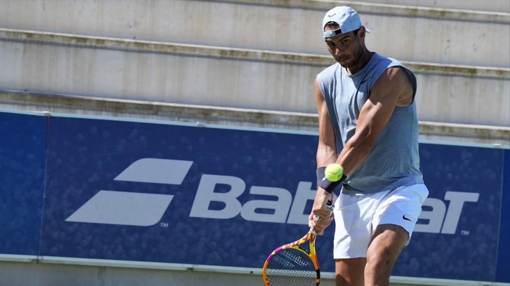 """Nadal confiesa que se siente """"muy contento de volver a jugar tenis"""" - El tenista Rafa Nadal. Foto de @RafaelNadal"""