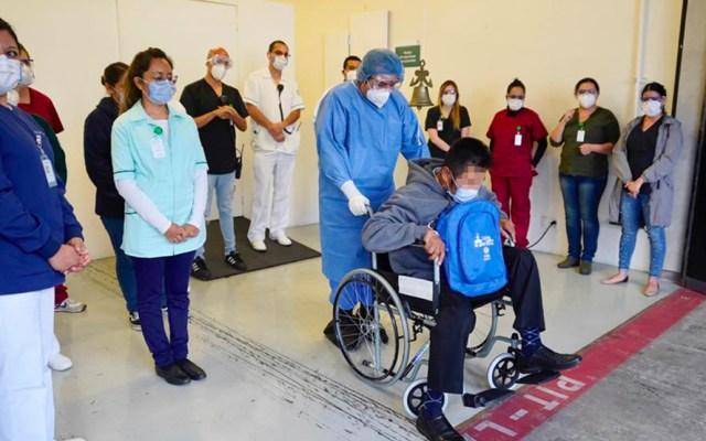 Dan de alta a cinco pacientes de COVID-19 del hospital de campaña en el Autódromo Hermanos Rodríguez - Recuperados de COVID-19